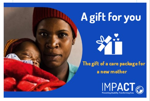 IMPACT Gift Token Care Package